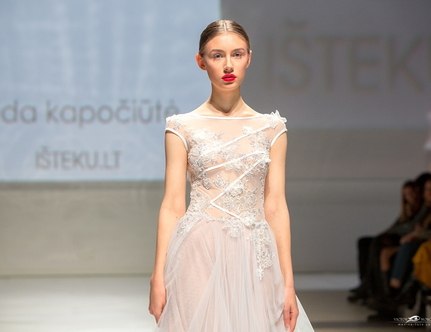 Aida Kapociute Isteku lt Wedding Fashion Show